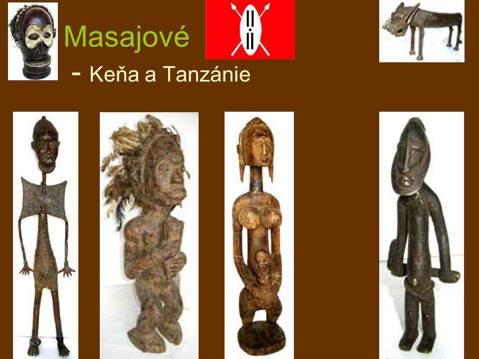 Masajové - Keňa a Tanzánie