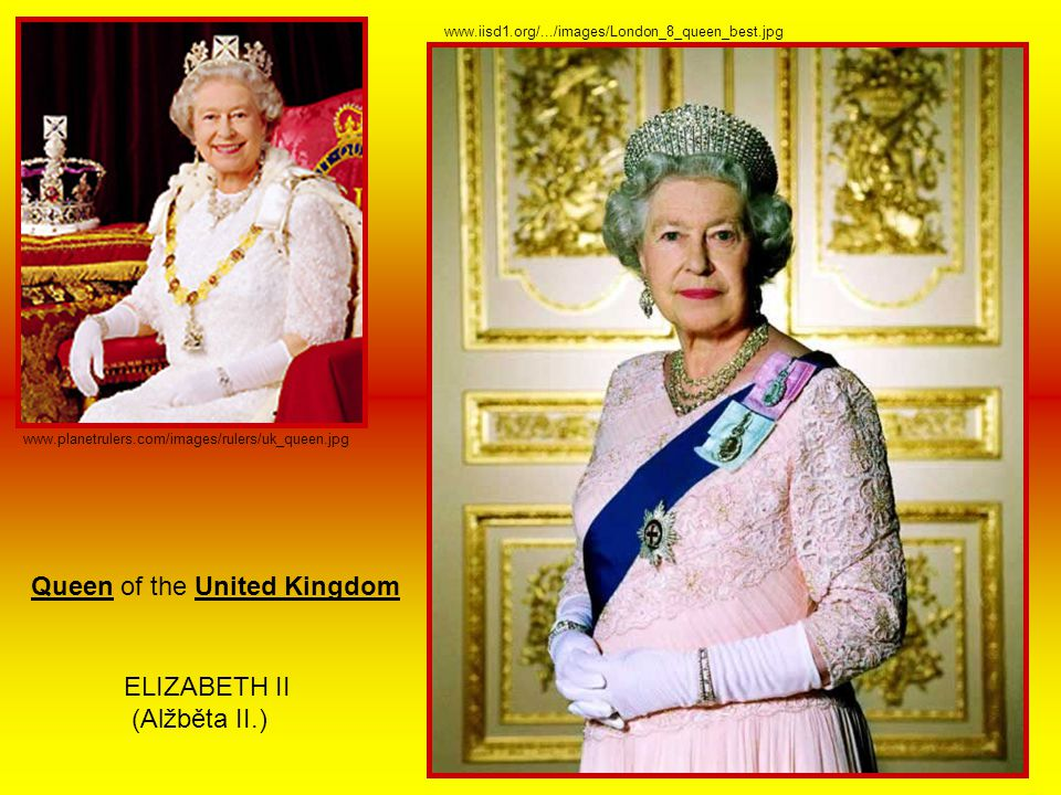 Queen of the United Kingdom