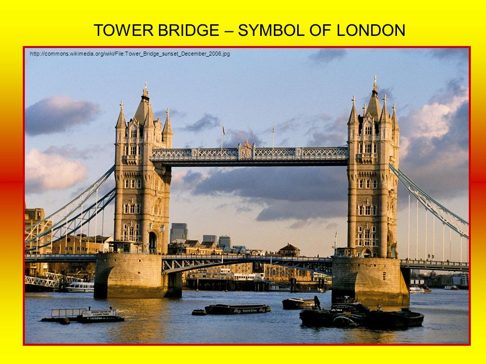TOWER BRIDGE – SYMBOL OF LONDON