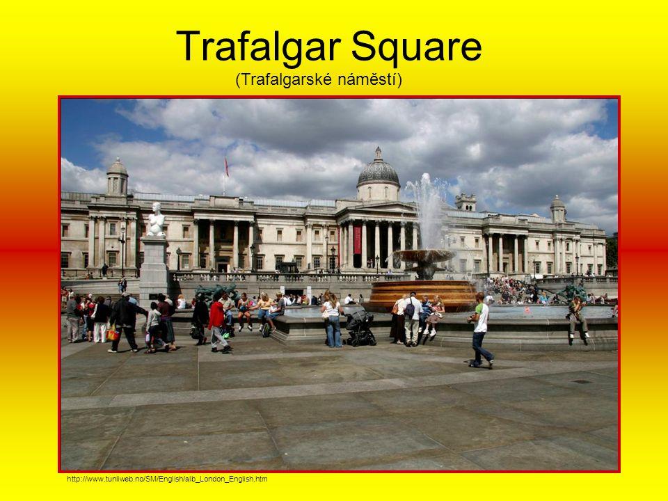 Trafalgar Square (Trafalgarské náměstí)