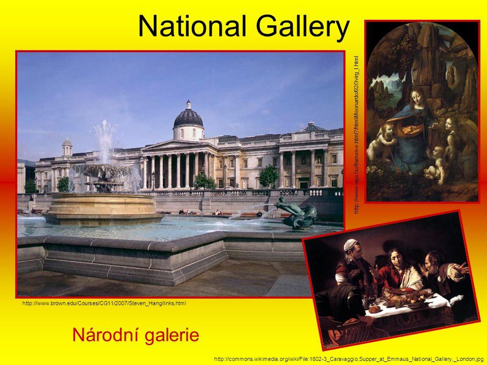 National Gallery Národní galerie