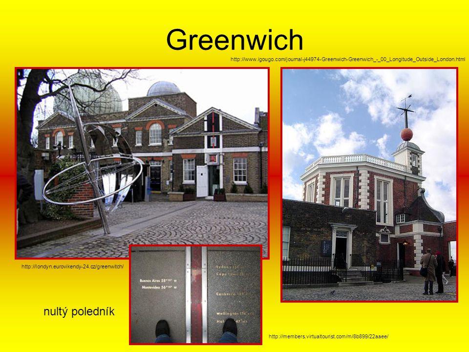 Greenwich nultý poledník