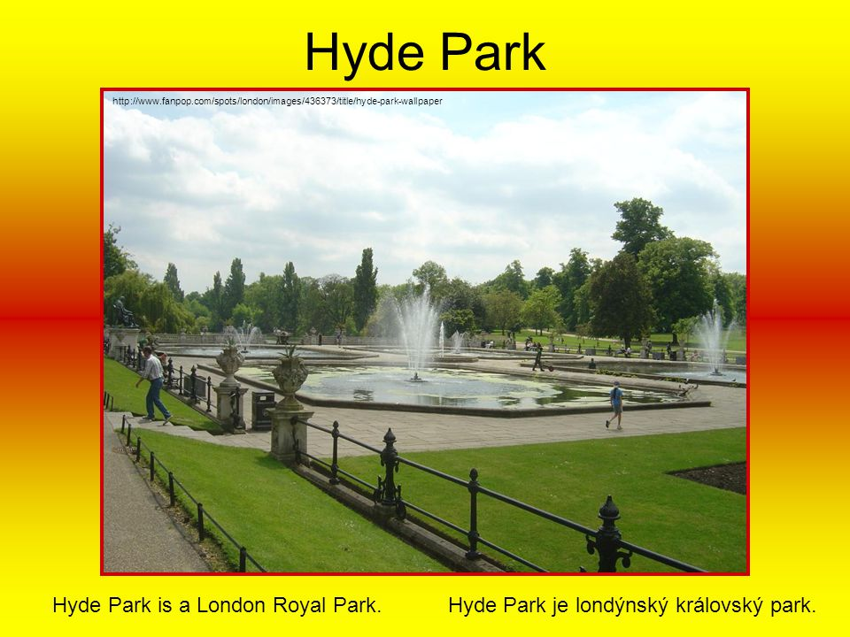 Hyde Park http://www.fanpop.com/spots/london/images/436373/title/hyde-park-wallpaper.
