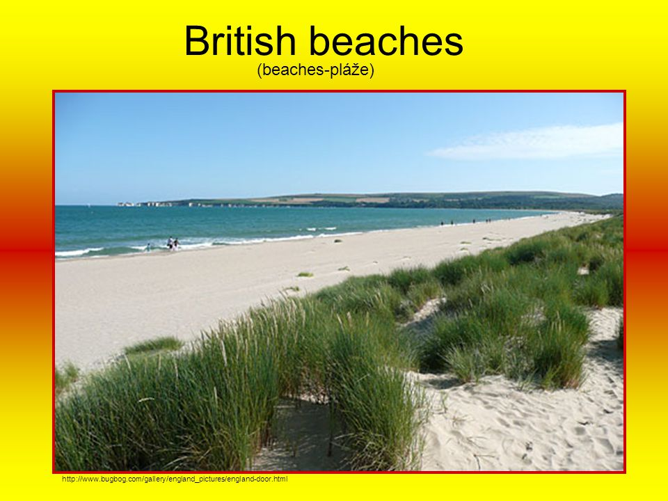 British beaches (beaches-pláže)