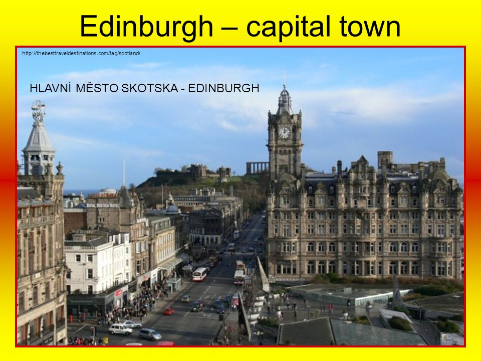 Edinburgh – capital town