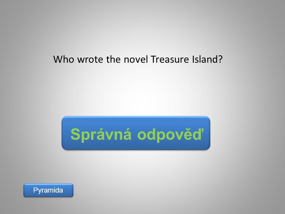 Who wrote the novel Treasure Island