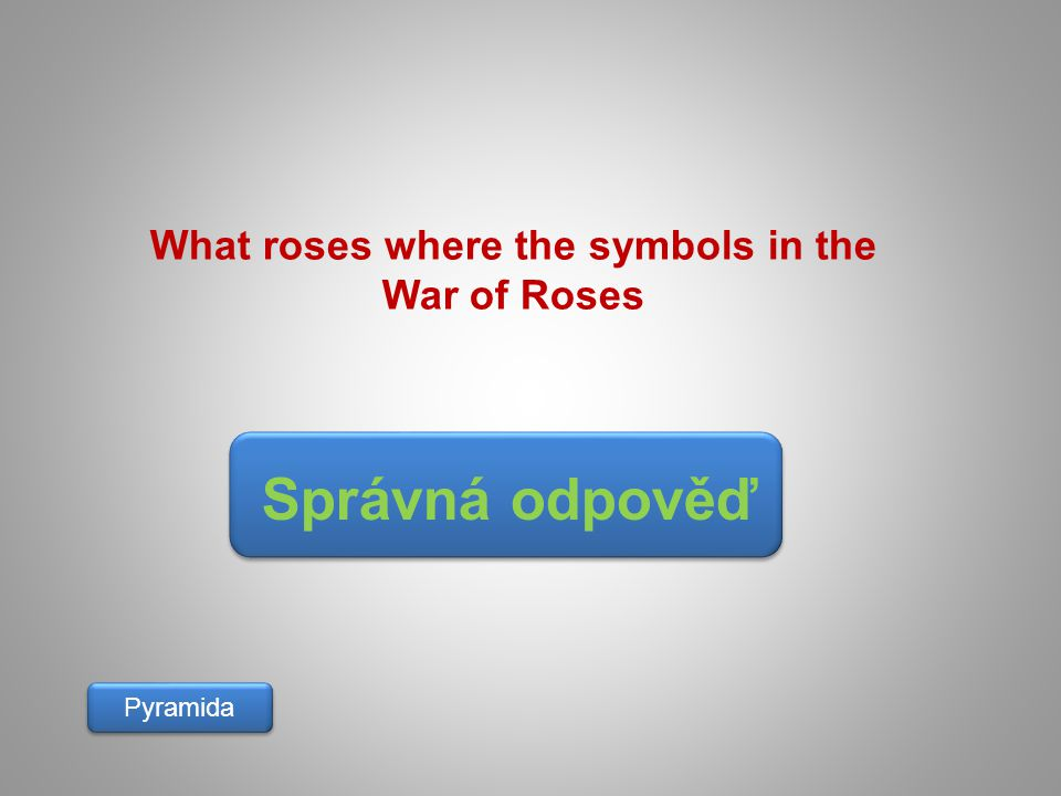 What roses where the symbols in the War of Roses