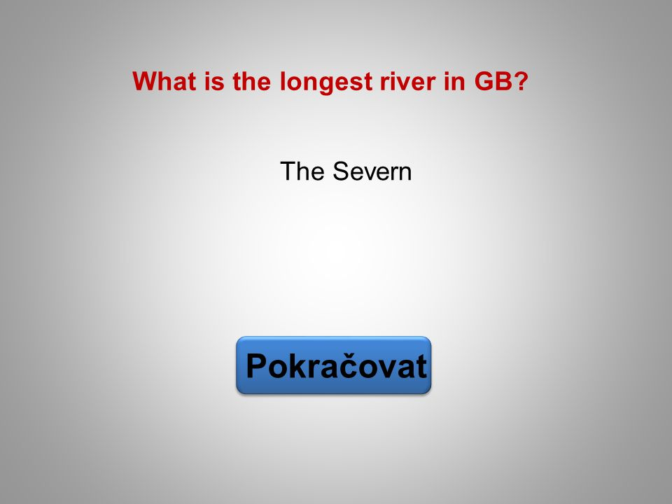 What is the longest river in GB