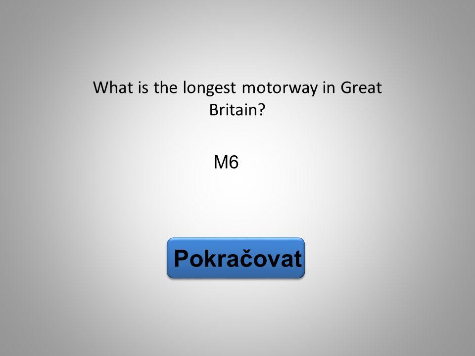 What is the longest motorway in Great Britain