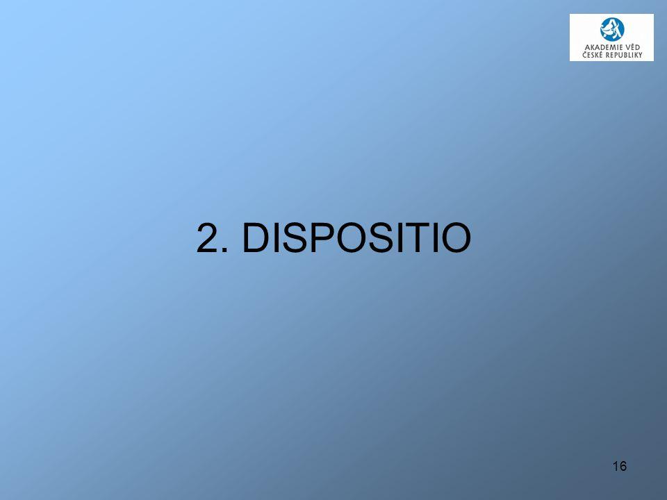 2. DISPOSITIO
