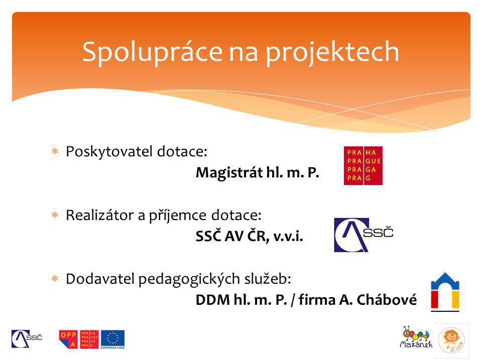 Spolupráce na projektech