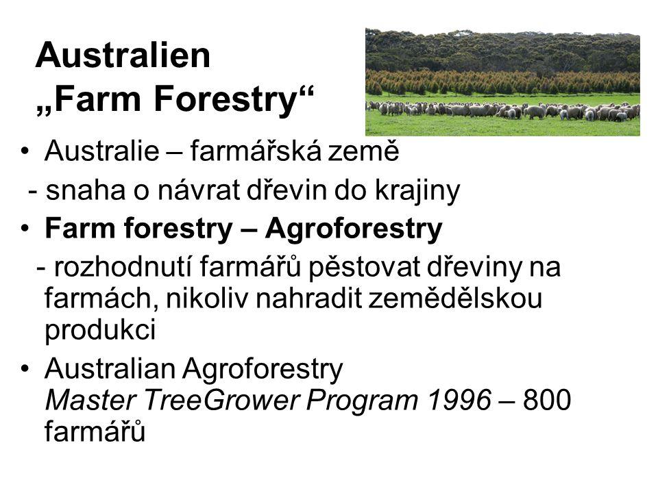 """Australien """"Farm Forestry"""