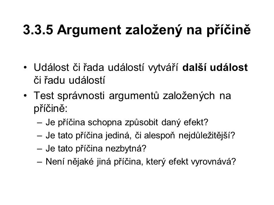 3.3.5 Argument založený na příčině