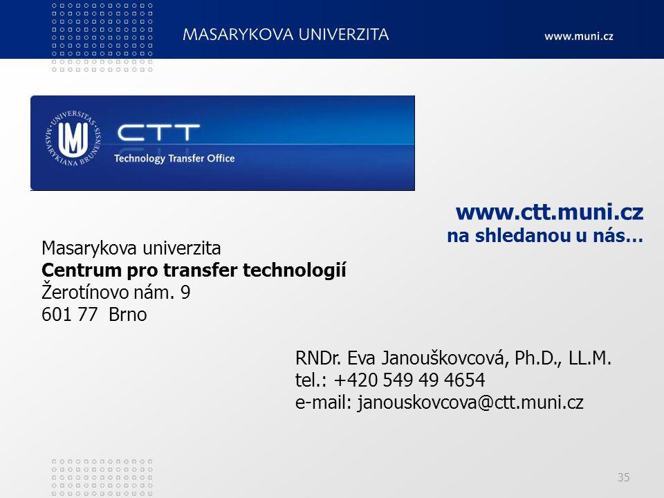 www.ctt.muni.cz na shledanou u nás…