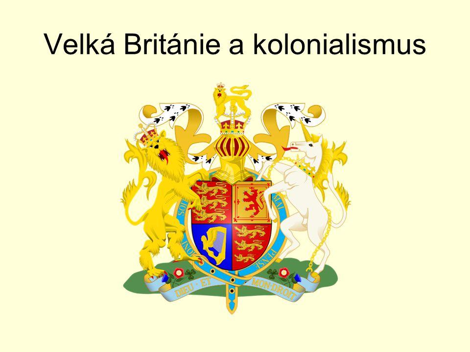 Velká Británie a kolonialismus