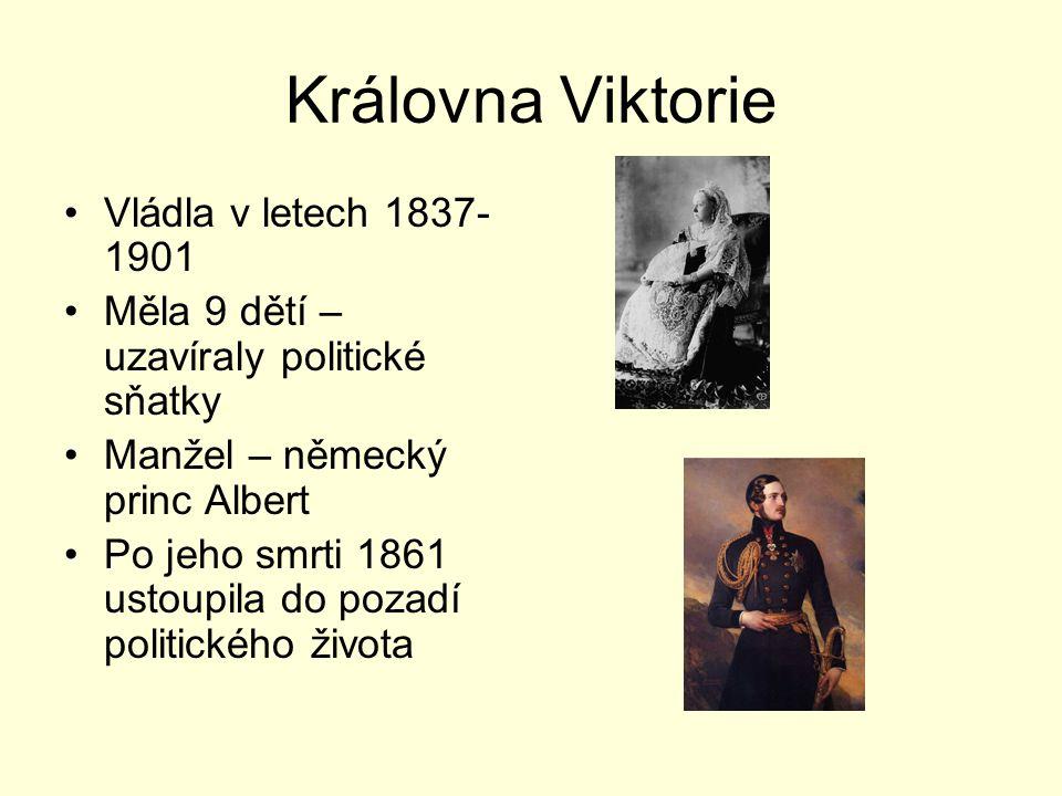 Královna Viktorie Vládla v letech 1837-1901