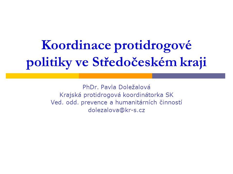 Koordinace protidrogové politiky ve Středočeském kraji