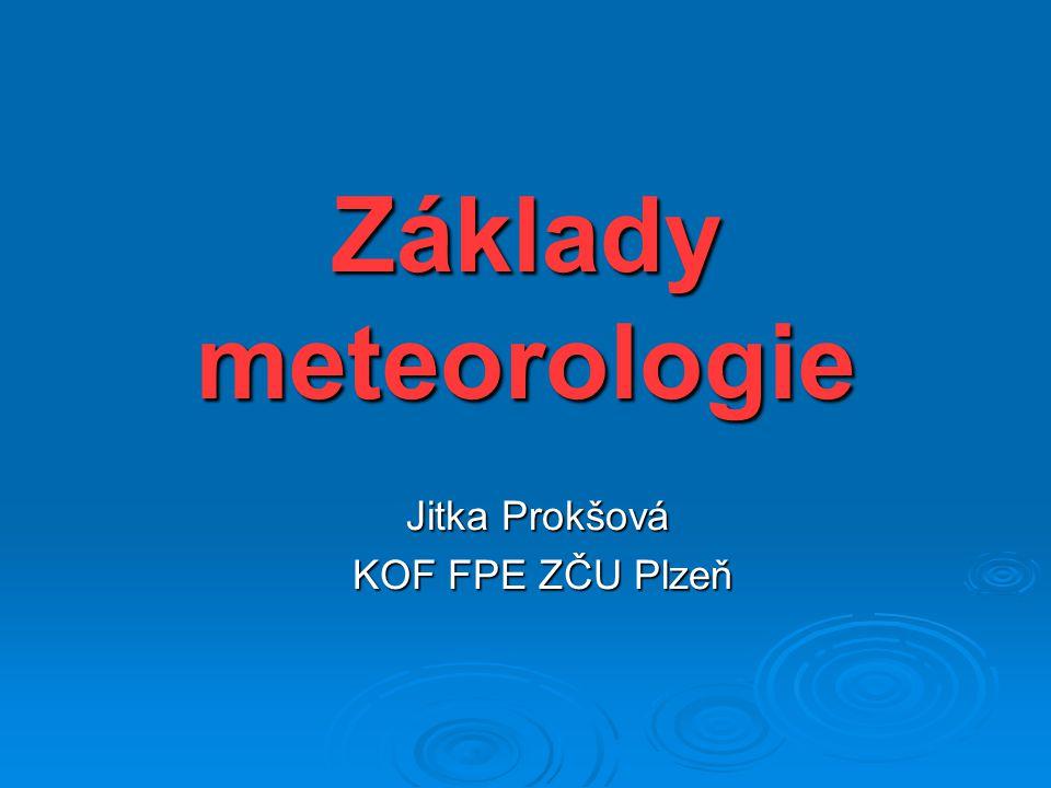 Jitka Prokšová KOF FPE ZČU Plzeň
