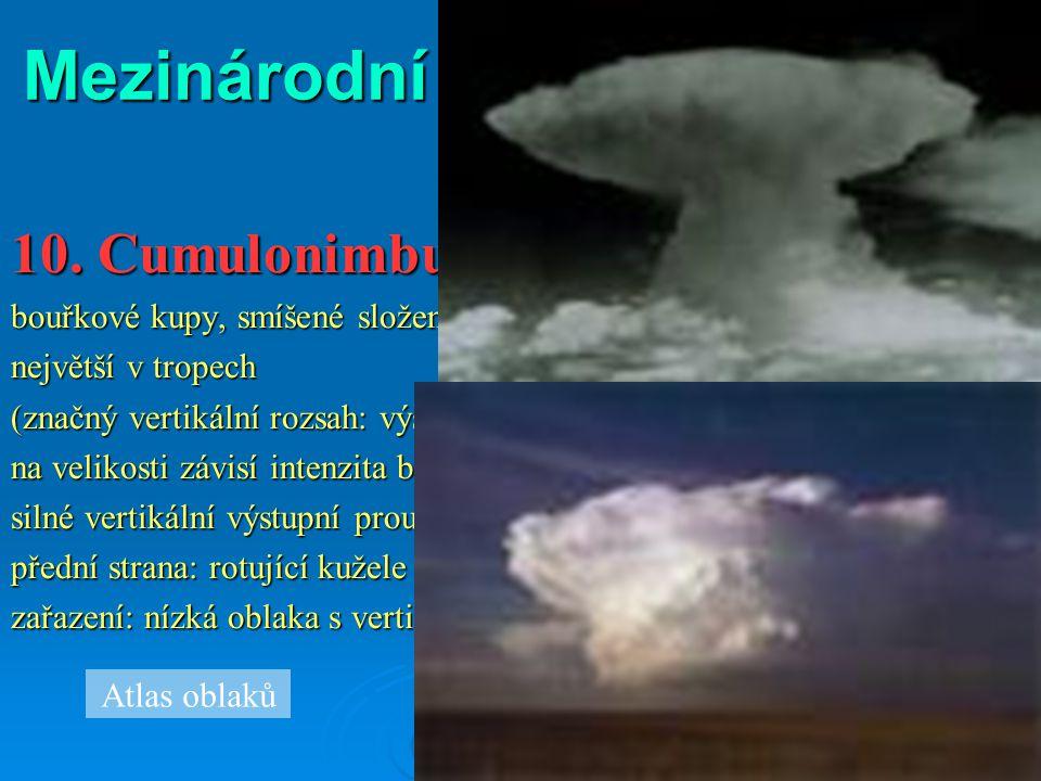 Mezinárodní rozdělení oblaků: