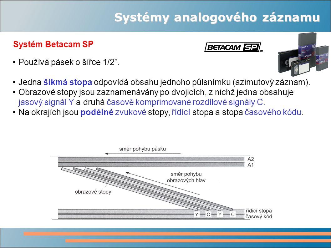 Systémy analogového záznamu