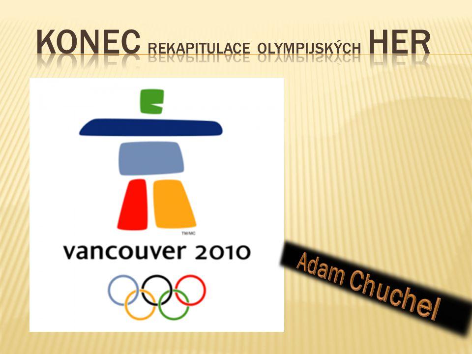 KONEC rekapitulace olympijských her
