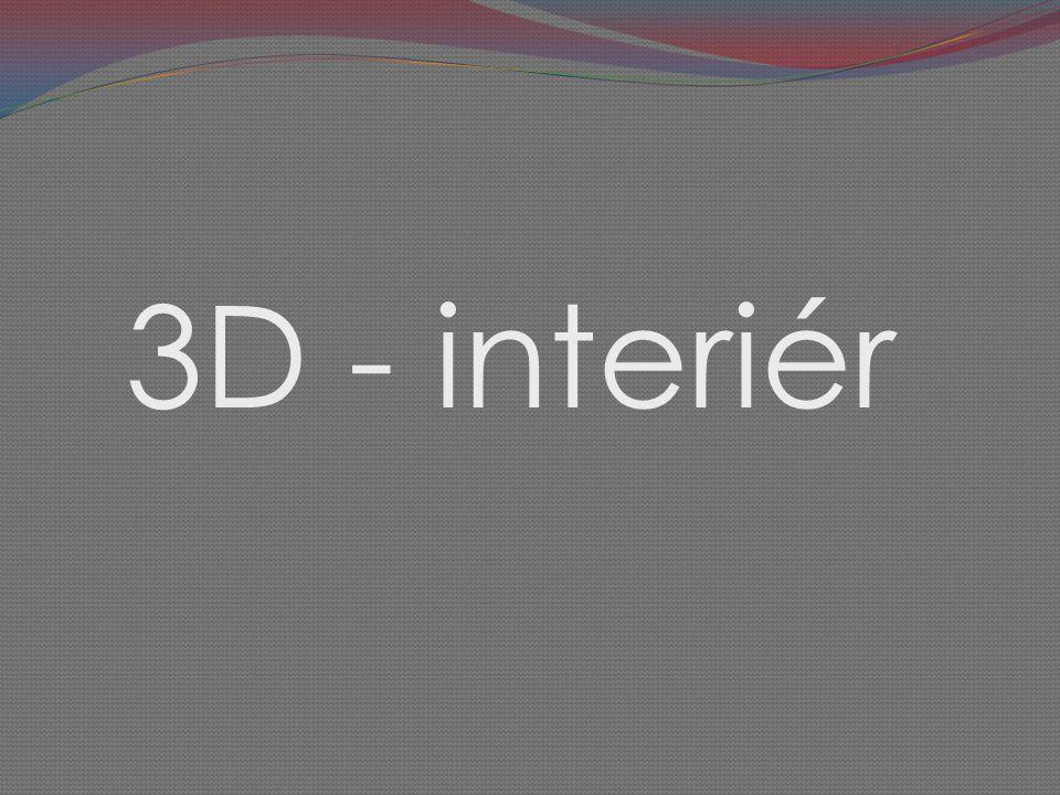 3D - interiér