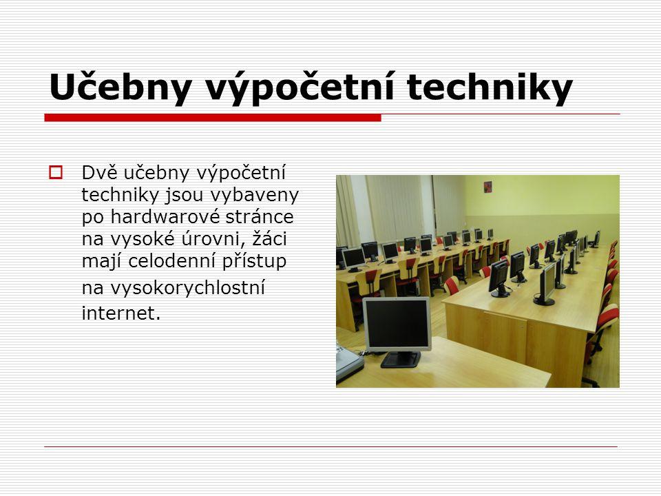Učebny výpočetní techniky