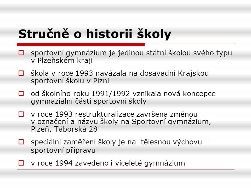 Stručně o historii školy