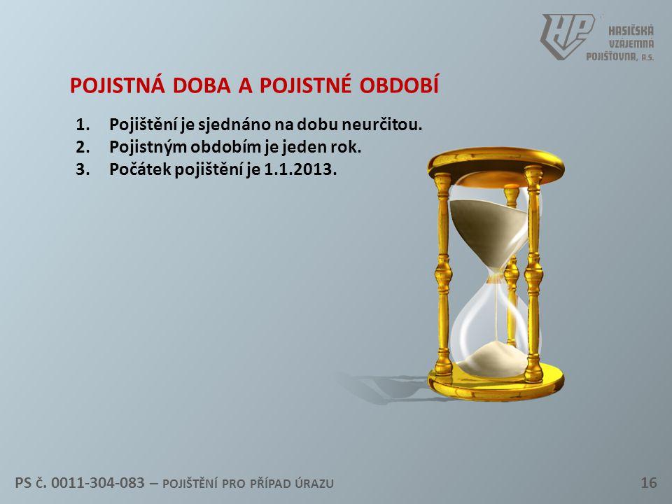 pojistná doba a pojistné období