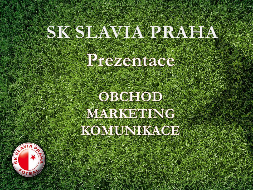 SK SLAVIA PRAHA Prezentace