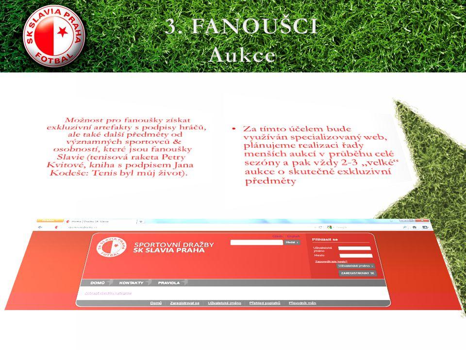 3. FANOUŠCI Aukce.