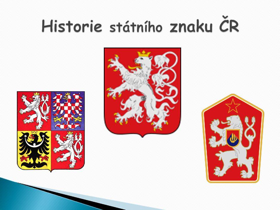 Historie státního znaku ČR