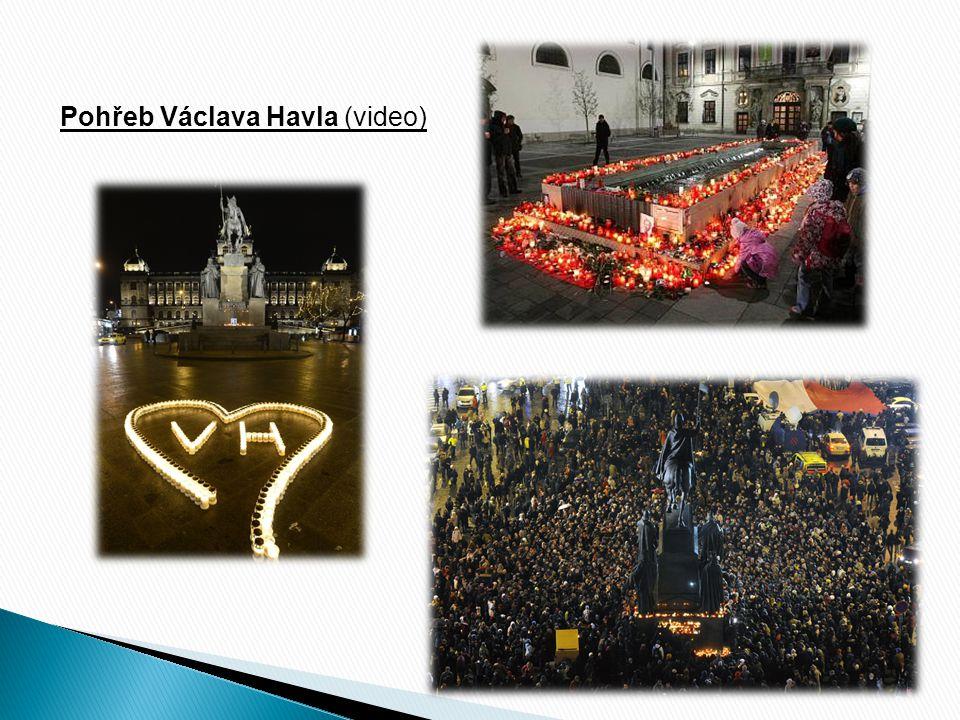 Pohřeb Václava Havla (video)