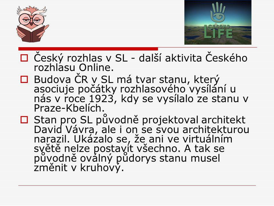 Český rozhlas v SL - další aktivita Českého rozhlasu Online.