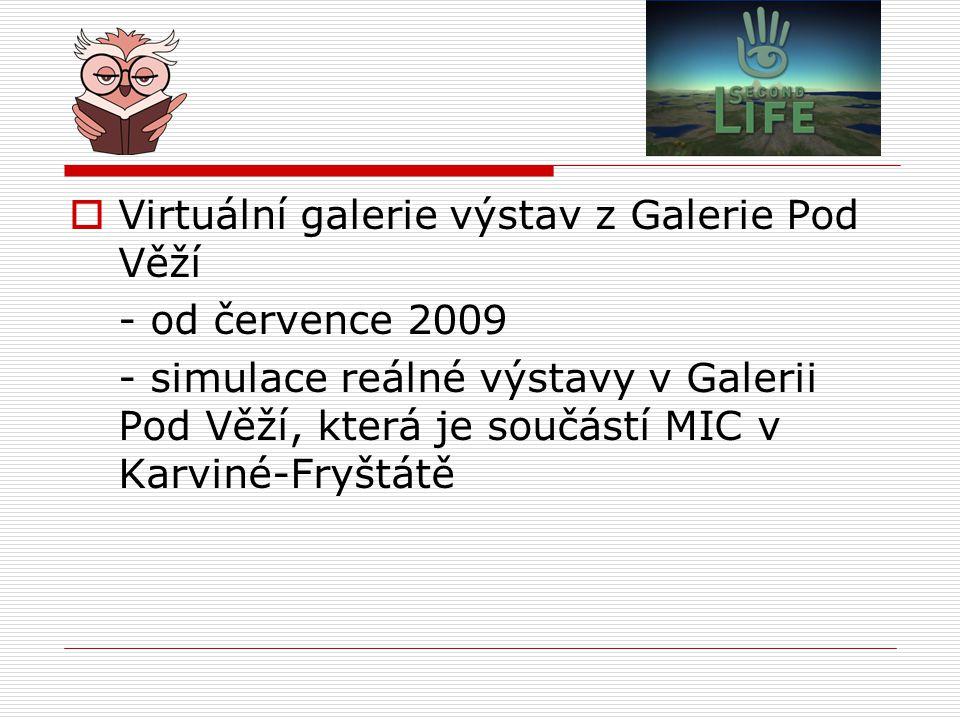Virtuální galerie výstav z Galerie Pod Věží