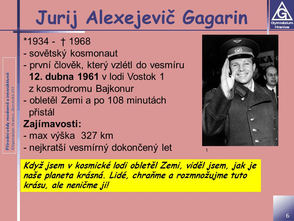 Jurij Alexejevič Gagarin