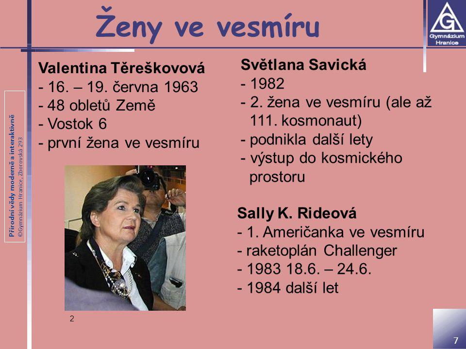 Ženy ve vesmíru Světlana Savická Valentina Těreškovová - 1982