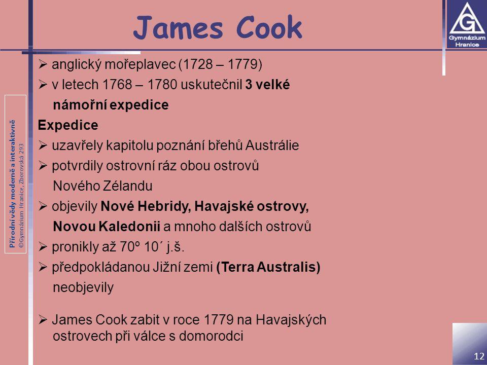 James Cook anglický mořeplavec (1728 – 1779)