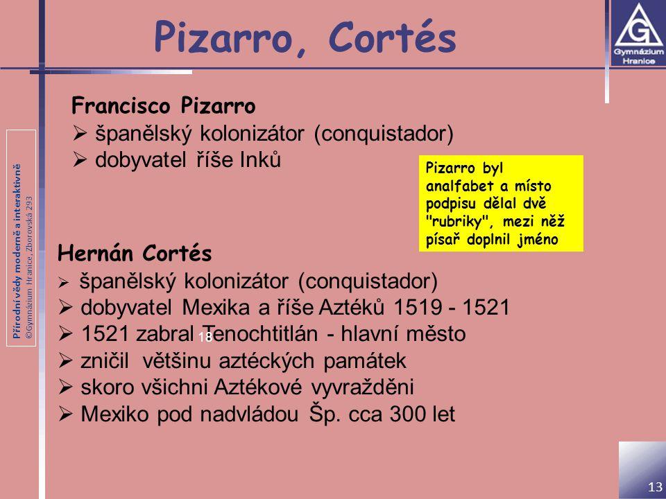 Pizarro, Cortés Francisco Pizarro španělský kolonizátor (conquistador)