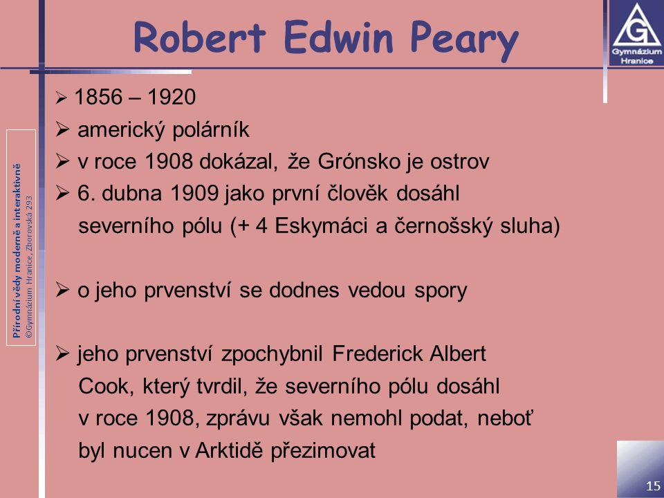Robert Edwin Peary americký polárník