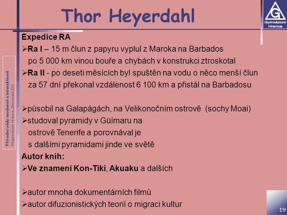 Thor Heyerdahl Expedice RA