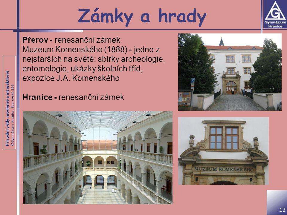 Zámky a hrady Přerov - renesanční zámek