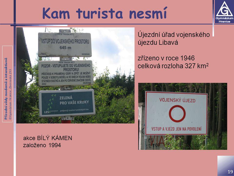 Kam turista nesmí Újezdní úřad vojenského újezdu Libavá