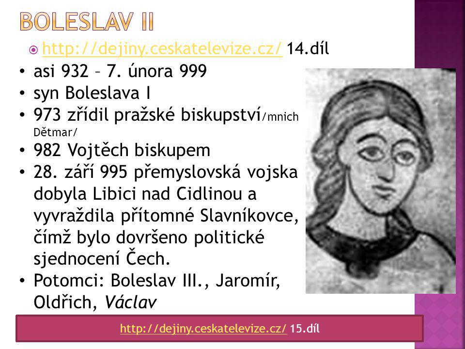 http://dejiny.ceskatelevize.cz/ 15.díl