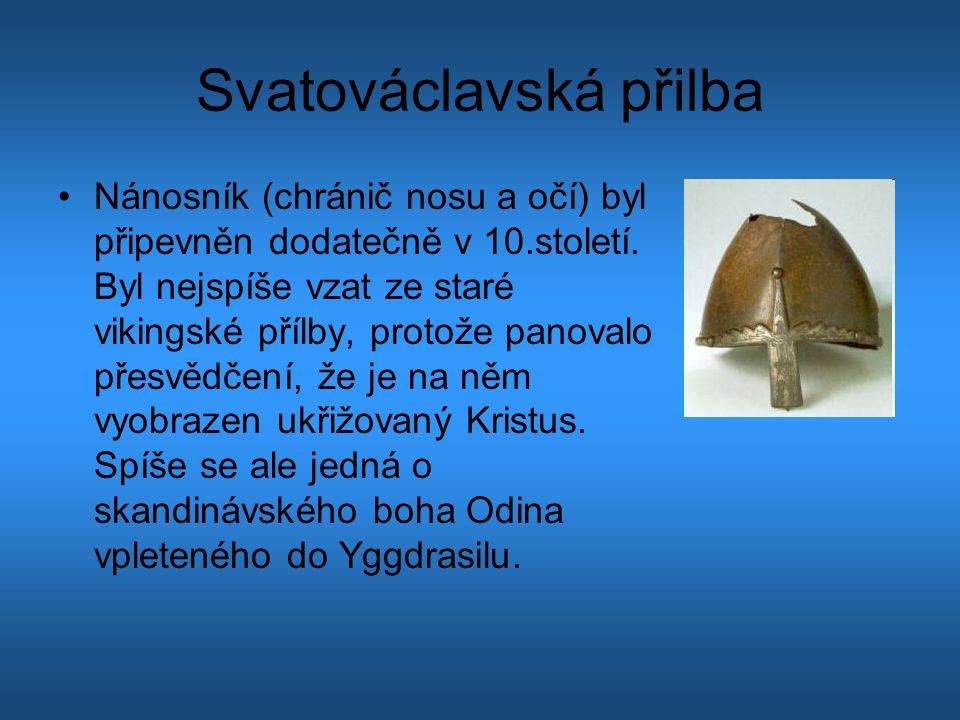 Svatováclavská přilba