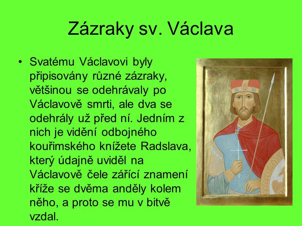 Zázraky sv. Václava