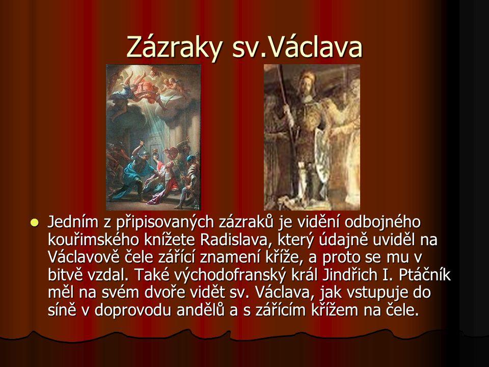 Zázraky sv.Václava