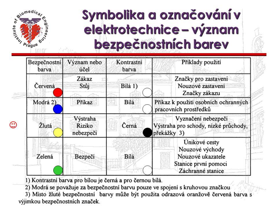 Symbolika a označování v elektrotechnice – význam bezpečnostních barev