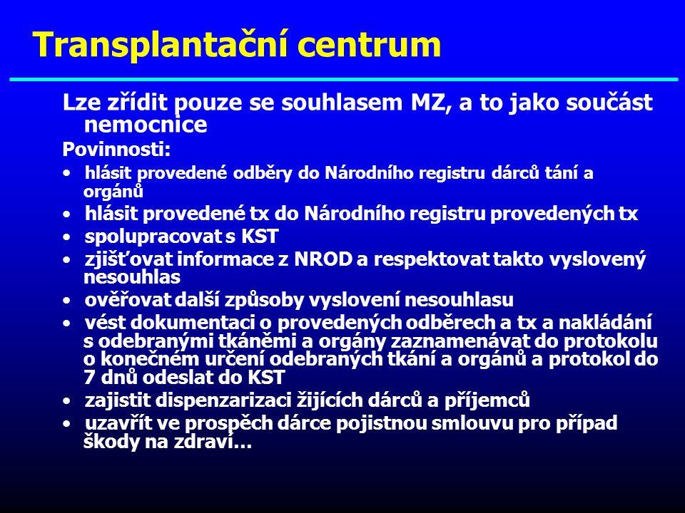 Transplantační centrum