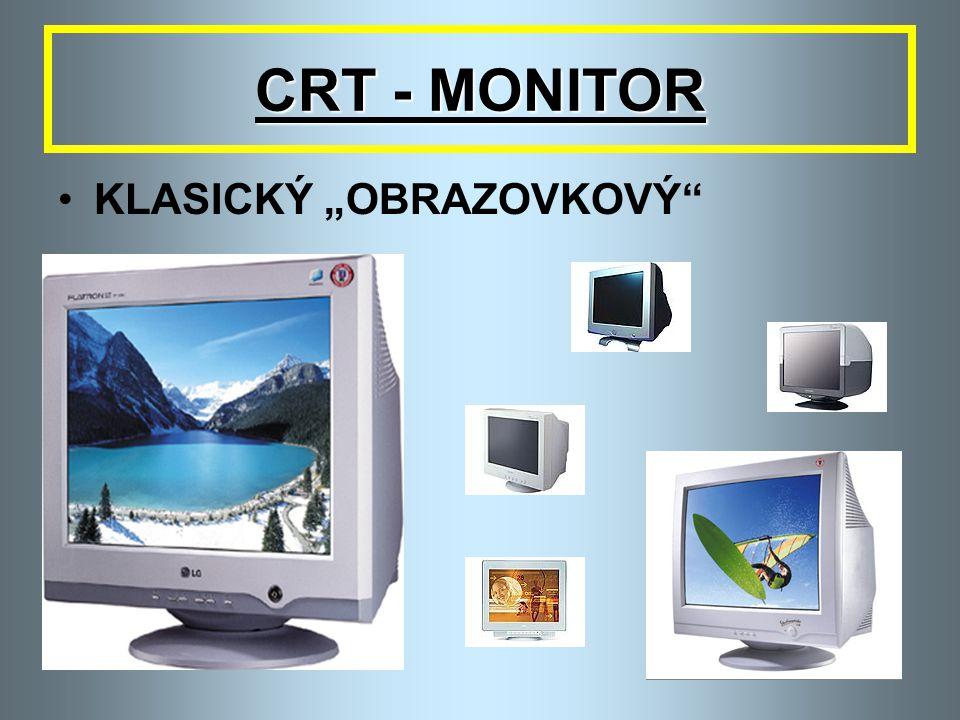 """CRT - MONITOR KLASICKÝ """"OBRAZOVKOVÝ"""